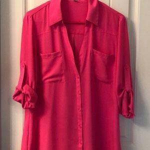 Bright Pink Portofino Shirt